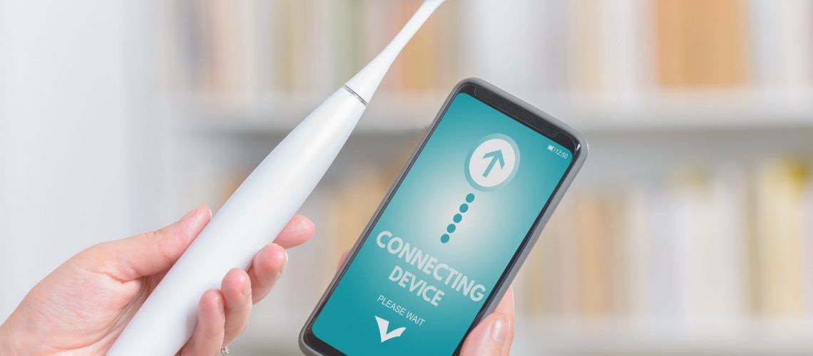 Smart Toothbrush with app on phone